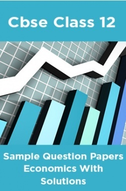 CBSE Sample Question Papers Economics With Solutions Class 12