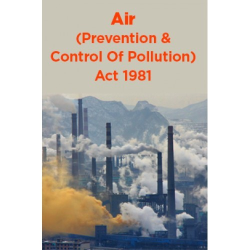Air Prevention And Control Of Pollution Act 1981 By