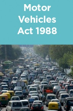 Motor Vehicles Act 1988