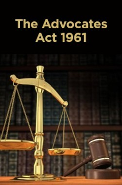 The Advocates Act 1961