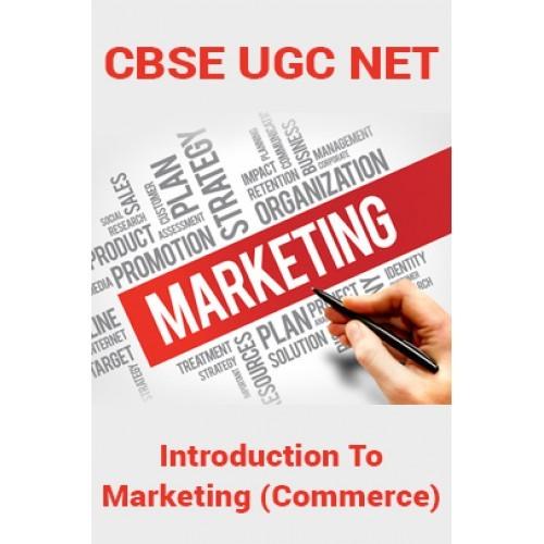 Cbse ugc net introduction to marketing commerce by panel of cbse ugc net introduction to marketing commerce fandeluxe Choice Image