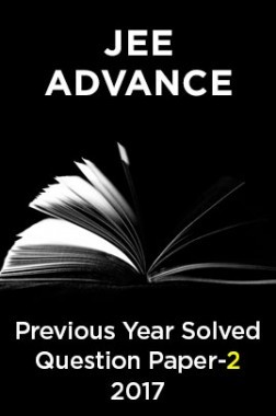 JEE Advance Previous Year Solved Question Paper 2 2017