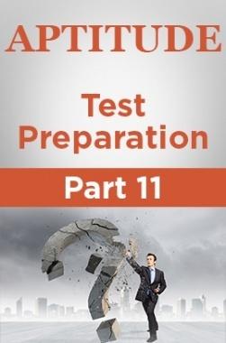 Aptitude Test Preparation Part 11