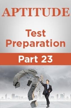 Aptitude Test Preparation Part 23
