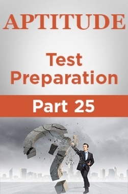 Aptitude Test Preparation Part 25