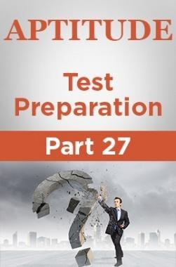 Aptitude Test Preparation Part 27