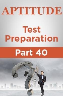 Aptitude Test Preparation Part 40