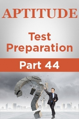 Aptitude Test Preparation Part 44