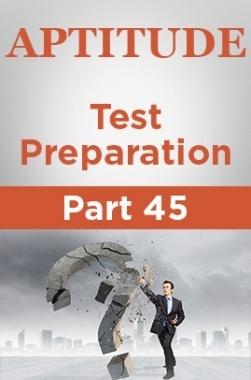 Aptitude Test Preparation Part 45