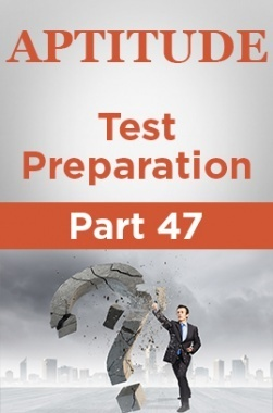 Aptitude Test Preparation Part 47