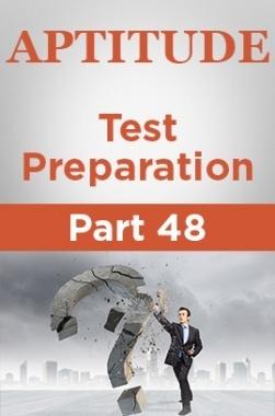 Aptitude Test Preparation Part 48