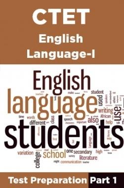 CTET English Language-I Test Preparation Part 1