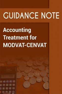 Guidance Note on Accounting Treatment for MODVAT-CENVAT