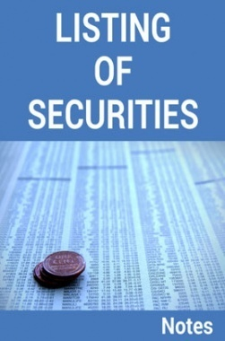 Listing of Securities Notes