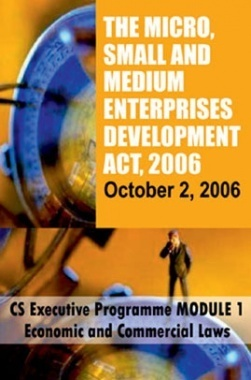 The Micro Small and Medium Enterprise Development Act, 2006