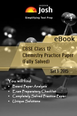 CBSE Class 12th Solved Chemistry Practice Paper 2015 (Set-I)