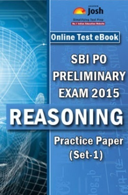 SBI PO Prelims Exam 2015 Reasoning Practice Paper (Set-1)