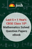 Last 5+1 Year's CBSE Class-X Mathematics Solved Question Papers - EBook