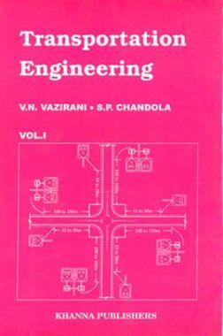 Transportation Engineering Vol. I eBook By Vazirani and Chandola