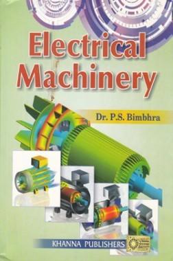 solution of electrical machinery p s bimbhra khanna publishers