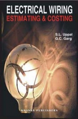 Electrical Wiring, Estimating and Costing eBook By S.L. Uppal & G.C. Garg