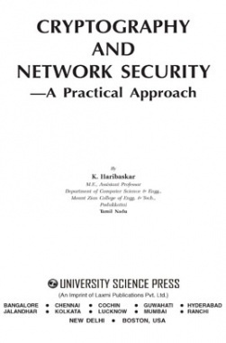 Cryptography and Network Security - A Practical Approach By K.Haribaskar