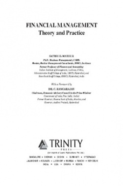 Financial Management Theory & Practice By Satish B.Mathur, Dr. C.Rangarajan