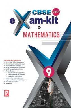 CBSE Exam Kit In Mathematics Class 9 For 2018 Exam