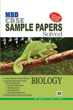 MBD CBSE Sample Paper Solved Class 11 Biology 2017