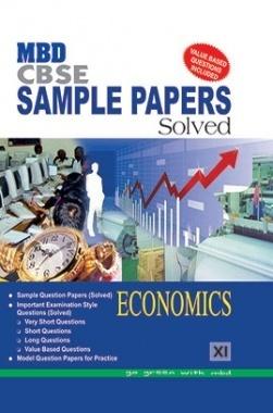 MBD Sample Paper Solved Economics 11 CBSE (English Medium) 2017