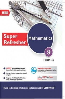 Download MBD CBSE Mathematics Super Refresher Class-9 Term-2 by VK Saxena  PDF Online