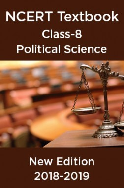 NCERT Book For Class-8 Political Science New Edition 2018-2019
