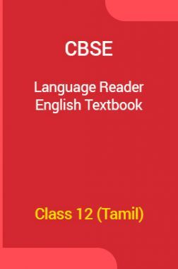 CBSE Language Reader English Textbook For Class 12 (Tamil)