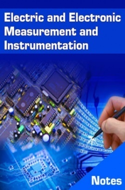 Electric and Electronic Measurement and Instrumentation Notes eBook