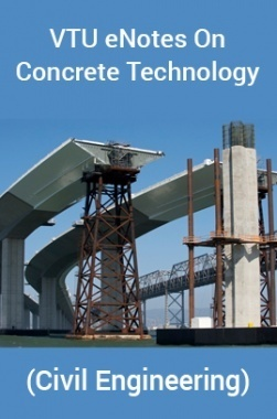 VTU eNotes On Concrete Technology (Civil Engineering)
