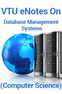 VTUeNotes OnDatabase Management Systems(Computer Science)