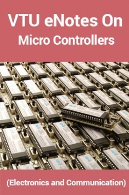 VTUeNotes OnMicro Controllers(Electronics and Communication)