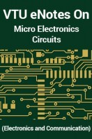 Electrical machine design notes ebook by pdf download ebook vtu enotes on micro electronics circuits electronics and communication fandeluxe