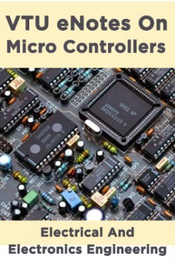 VTU eNotes On Micro Controllers (Electrical And Electronics Engineering)