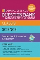 Oswaal CBSE CCE Question Bank With Complete Solutions For Class 9 Term I (April to Sep 2016) Science