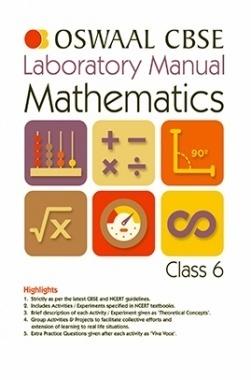 Oswaal CBSE Laboratory Manual For Class 6 Mathematics