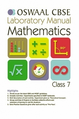 Oswaal CBSE Laboratory Manual For Class 7 Mathematics