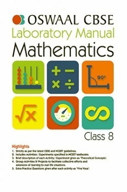 Oswaal CBSE Laboratory Manual For Class 8 Mathematics