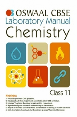 Oswaal CBSE Laboratory Manual For Class 11 Chemistry