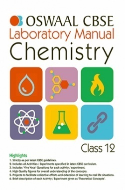 Oswaal CBSE Laboratory Manual For Class 12 Chemistry