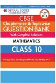 Oswaal CBSE Chapterwise And Topicwise Question Bank With Complet