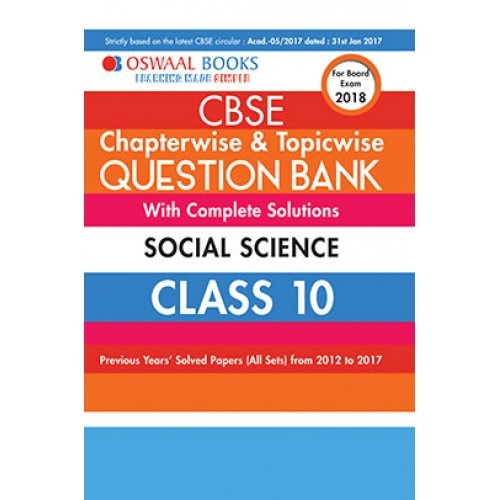 Oswaal cbse chapterwise and topicwise question bank with complete oswaal cbse chapterwise and topicwise question bank with complete solutions for class 10 social science for march 2018 exam fandeluxe Choice Image