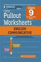 Oswaal CBSE Pullout Worksheet Class 9 English Communicative (March 2018 Exam)