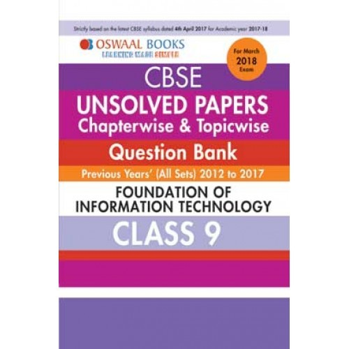 question paper of foundation of information technology For 2018 exam model question paper foundation of information technology (fit ) code 165 class 10 {cbse board.