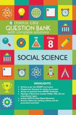 Oswaal CBSE Question Banks Social Science For Class 8